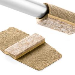 Möbeltass, rörskydd i filt, för liggande rör, Wrap Around