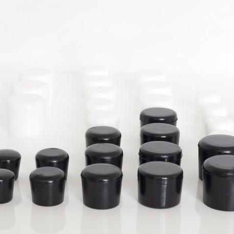 Rörskydd svart plast