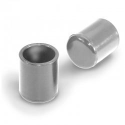 Stolskydd, utvändigt rörskydd i plast med glid