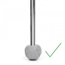 Möbelboll, för runda ben